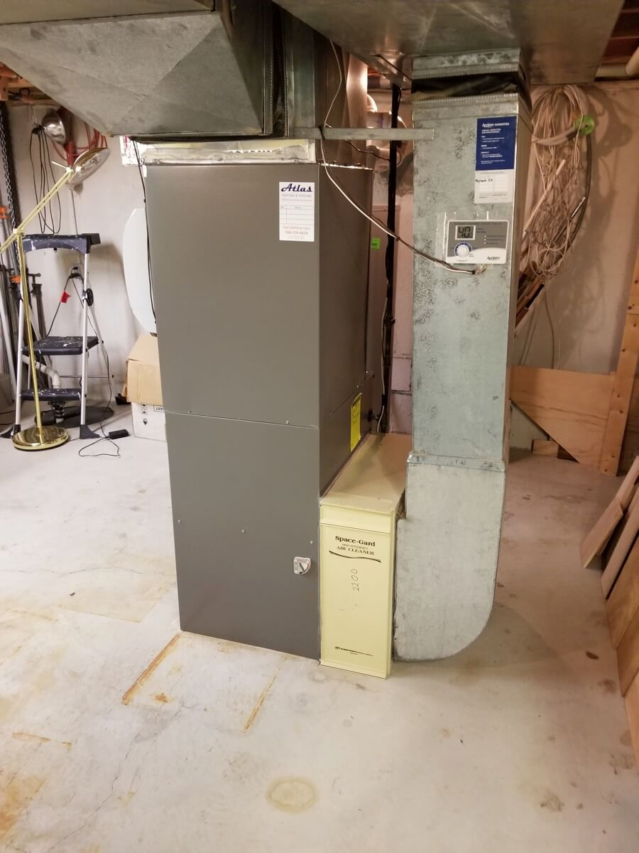 Atlas Heating and Cooling Shelby Charter Township MI 48315 Project
