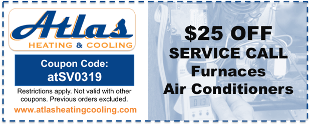 Heating Cooling Repair Coupon