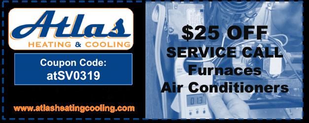 Heating Cooling Repair Coupon